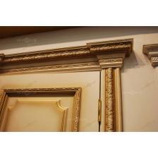 Дверь деревянная с обрамлением Леонардо