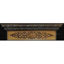 карниз для штор с  деревянной резьбой