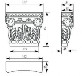 Изделия ручной резьбы 101 размеры