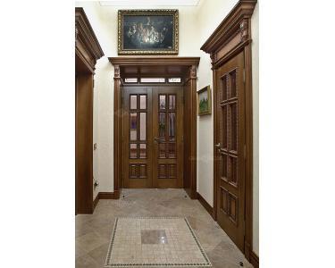 Дверной портал из массива