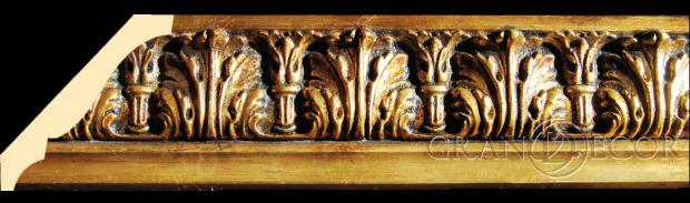 карниз бронзино деревянный